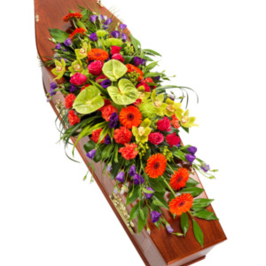 Coffin Flowers Vibrant